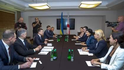 Зеленський зустрівся з президенткою Грузії та досяг важливих домовленостей