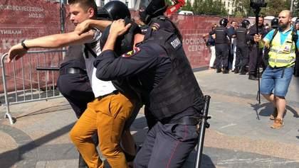 Массовые протесты в Москве: власти наказали еще одного участника
