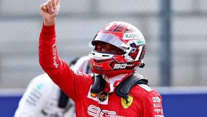 Леклер курйозно виграв кваліфікацію гран-прі Італії