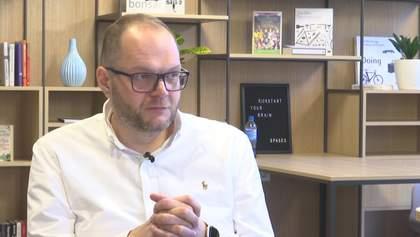 Сохранят ли языковые квоты и запрет на российское ТВ: интервью с министром культуры Бородянским