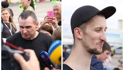 Сенцов та Кольченко розповіли про стан свого здоров'я