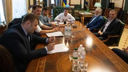 Зеленский встретился с Коломойским: о чем говорили