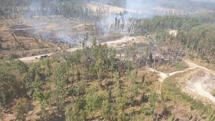 Пожар и взрывы на военных складах в Калиновке: что известно – фото