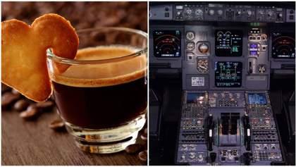Кава, коліна, кришечки, літак: кумедна історія про екстрену посадку та мужніх пілотів