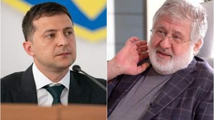 Зеленский рассказал, о чем говорил с Коломойским в Офисе Президента
