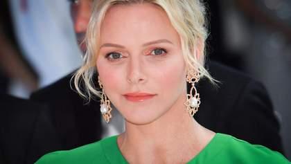 Княгиня Монако підтримала українського дизайнера: що одягнула 41-річна Шарлен