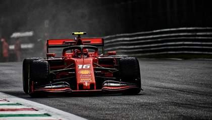 Шарль Леклер выиграл третью подряд квалификацию в Формуле-1