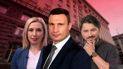 Хто йде у мери Києва: рейтинг кандидатів
