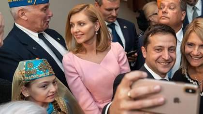 Олена Зеленська підкорює США у строгому вбранні: стильні фото та відео