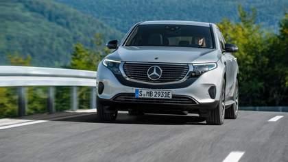 Это будущее: тест-драйв электрического Mercedes-Benz EQC