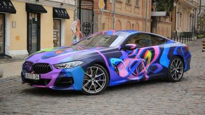Шедевр в квадрате: арт-купе BMW M850i