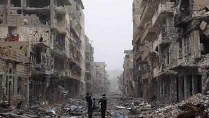 Битва за Алеппо: Россия жестоко бомбила город, а Асад Башар атаковал людей химическим оружием