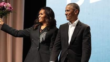Мишель Обама трогательно поздравила Барака с 27-годовщиной брака: романтическое фото