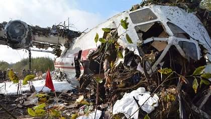 Аварія Ан12 біля Львова: оновлена інформація про стан потерпілих