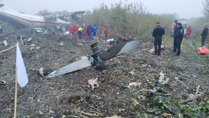 Аварія Ан12 під Львовом: вражаючі відео рятувальної операції (18+)