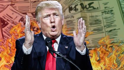 """Импичмент жестоко """"плавит"""" Трампа"""