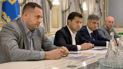 Ситуация в зоне разведения войск на Донбассе: Зеленский собрал на совещание силовиков