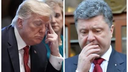 Скандал у США: як до цього причетний Порошенко