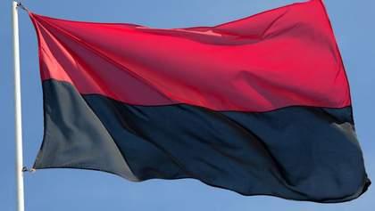Стяг ОУН предлагают утвердить Флагом Национального Достоинства Украины
