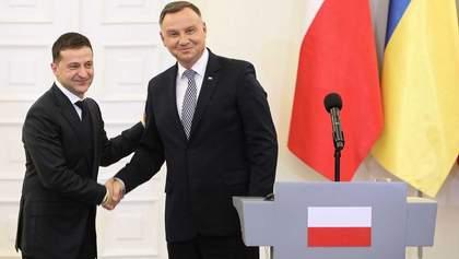Зеленський про відносини з Польщею: нас чекає дружба