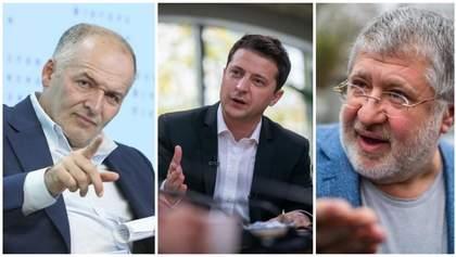 Чи впливають Коломойський чи Пінчук на рішення Зеленського: відповідь президента