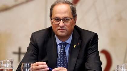 Президент Каталонії хоче провести новий референдум щодо незалежності регіону