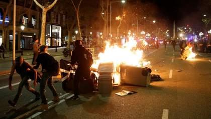 Масові протести у Барселоні: чи безпечно виходити на вулиці