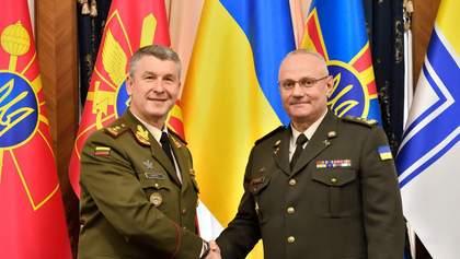 В Украину прибыла военная делегация Литвы: фото