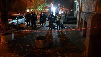 Обнародовали видео взрыва на Пушкинской в Киеве, в результате которого погиб ветеран АТО