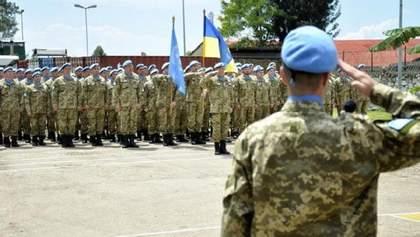 Украина хочет расширить свое участие в миротворческих миссиях НАТО
