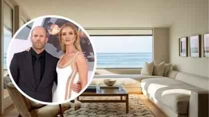 Джейсон Стэтхэм и его девушка Рози продают дом мечты: цена и фото особняка с частным пляжем