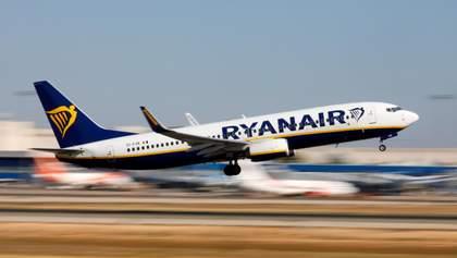 Чому літак Ryanair без пасажирів полетів до Львова: курйозні деталі