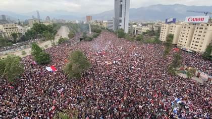 Президент Чилі скасував надзвичайний стан в країні