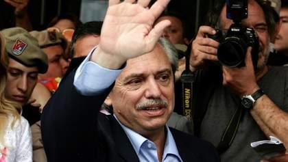 В Аргентине на выборах президента победил оппозиционер Альберто Фернандес