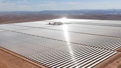 Найбільша в Африці сонячна електростанція побудована: на що вона здатна – відео