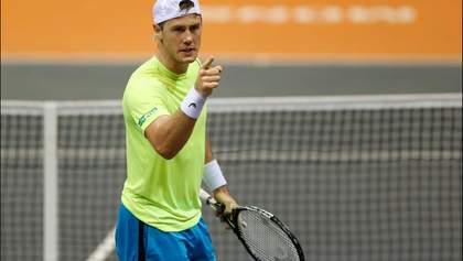 Украинская дуэль: Марченко победил Стаховского на турнире в Германии
