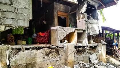 Жахливий землетрус на Філіппінах забрав життя дев'яти людей: фото та відео