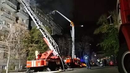 Пожежу в Києві на Пирогова вдалося ліквідувати: фото