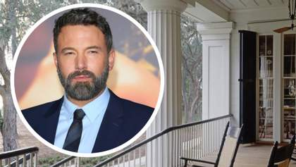Голлівудський казанова Бен Аффлек продає колоритний маєток у штаті Джорджія: фото особняка