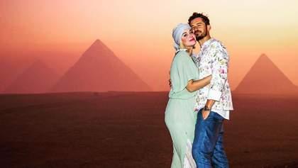 Кеті Перрі романтично відсвяткувала 35-річчя у Єгипті разом з Орландо Блумом