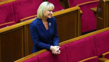 Ирина Луценко решила досрочно прекратить депутатские полномочия: причина