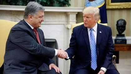 Охота на Трампа: подковерные торги с Порошенко?