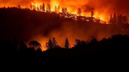 Фото дня: наслідки пожеж у Каліфорнії показали із космосу