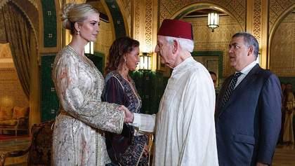 Потрясающий выход: Иванка Трамп очаровала появлением в марокканском кафтане