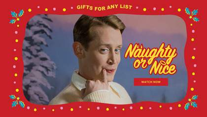 """Зірка """"Сам удома"""" використав популярний образ Кевіна у новорічній рекламі"""