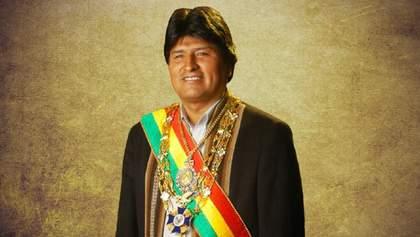 Президент Боливии ушел в отставку через месяц после выборов