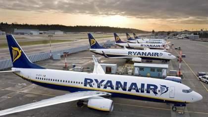 Ryanair оголосив розпродаж квитків за маршрутом, який скасувала МАУ