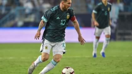 Аргентина минимально победила Бразилию: гол Месси и два нереализованных пенальти (видео)
