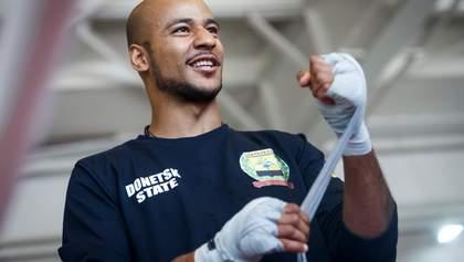 Темнокожий украинский боксер рассказал, как расправлялся с расистами в Украине