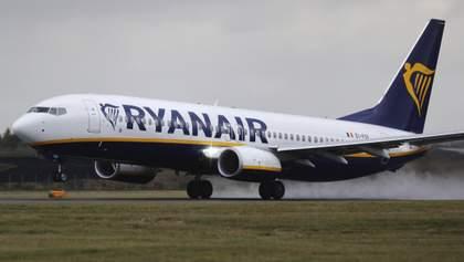 Ryanair запускає третій рейс з Херсона